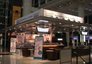 香港国際空港のクリスピー・クリーム・ドーナツ